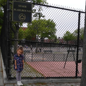 City parks hold special memories for her.